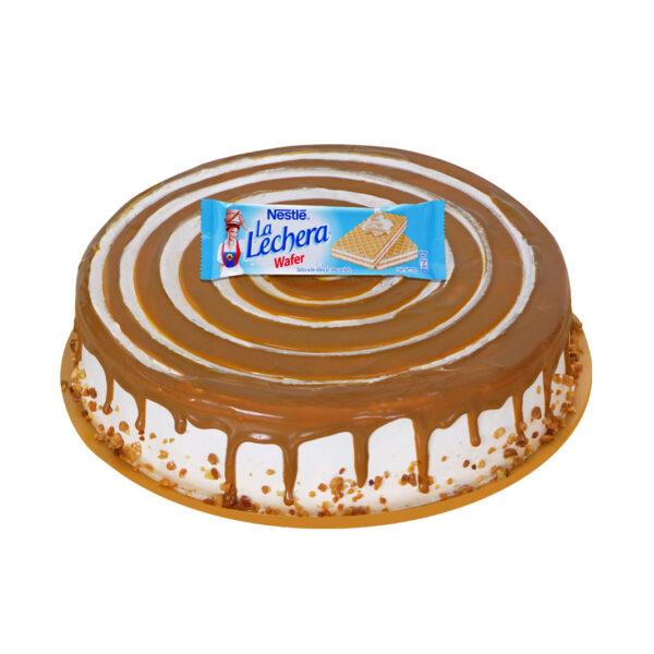 pastel caramelo