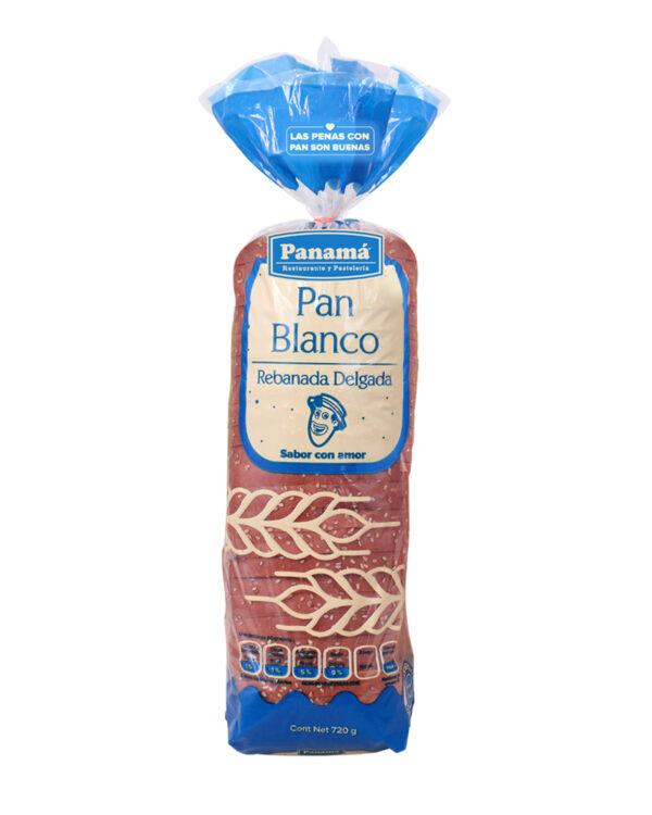 Pan blanco sandwich